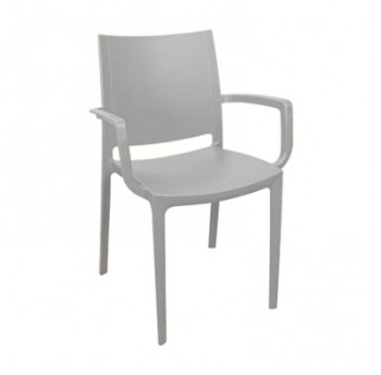 Крісло Irak Plastik Lara сірий