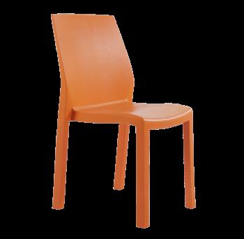 Стул Papatya Yummy оранжевый