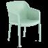 Кресло Tilia Octa серо-зеленое
