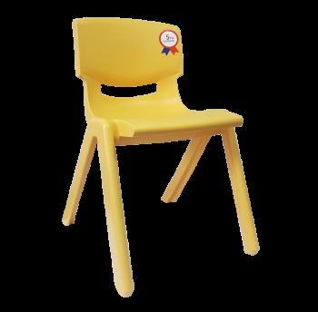 Стул детский Irak Plastik Jumbo №2 желтый