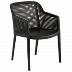 Крісло Tilia Octa чорне