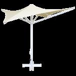 Зонт профессиональный The Umbrella House 200x200 / 8 квадратный BUTTERFLY без базы