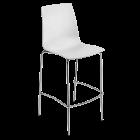 Барный стул Papatya X-Treme BSL белый