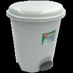 Відро для сміття з педаллю Planet №3 12 л сірий