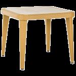 Стол Tilia Osaka 90x90 см ножки пластиковые цвет дерево