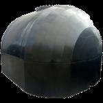 Емкость для перевозки пищевой воды 6000 л КАС двухслойная крышка с клапаном