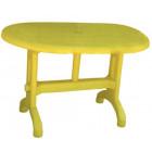 Стол овальный 925 NР желтый