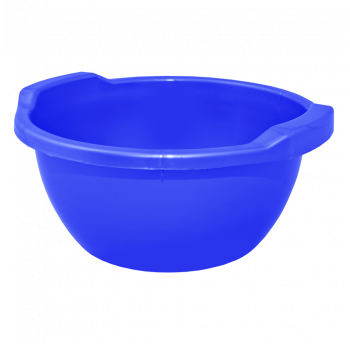 Таз круглый 15л синий