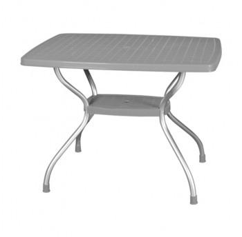 Стол Irak Plastik Vega 70x100 серый