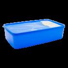 Бокс для морозильной камеры 2,1 л прямоугольный Alaska синий