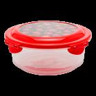 Контейнер 0,7 л прозрачно-красный
