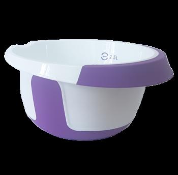 Емкость для миксера 2,5 л бело-фиолетовая