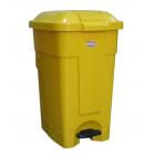 Бак для мусора с педалью, 50 л