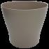 Горщик для квітів Gardenya 8,3 л сіро-коричневий