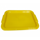 Поднос прямоугольный Радуга желтый