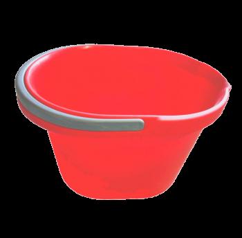 Ведро 15 л для уборки красное