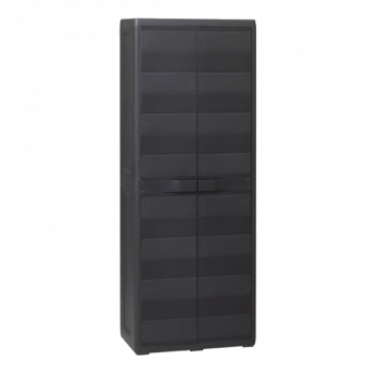 Шкаф 2-х дверный Elegance S Toomax черный
