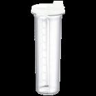 Бутылка для масла / уксуса 1,25 л белая прозрачная
