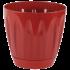 Горщик для квітів Daisy 0,7 л червоний